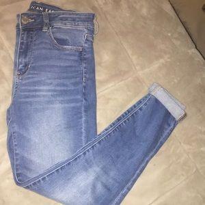 "AEO ""next level stretch"" medium wash jeans!"